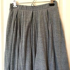 NWOT LLR Heathered Blue/Gray Madison Skirt
